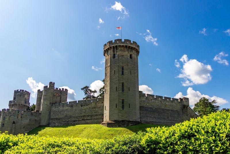 Warwick Castle, England - best castles in Europe