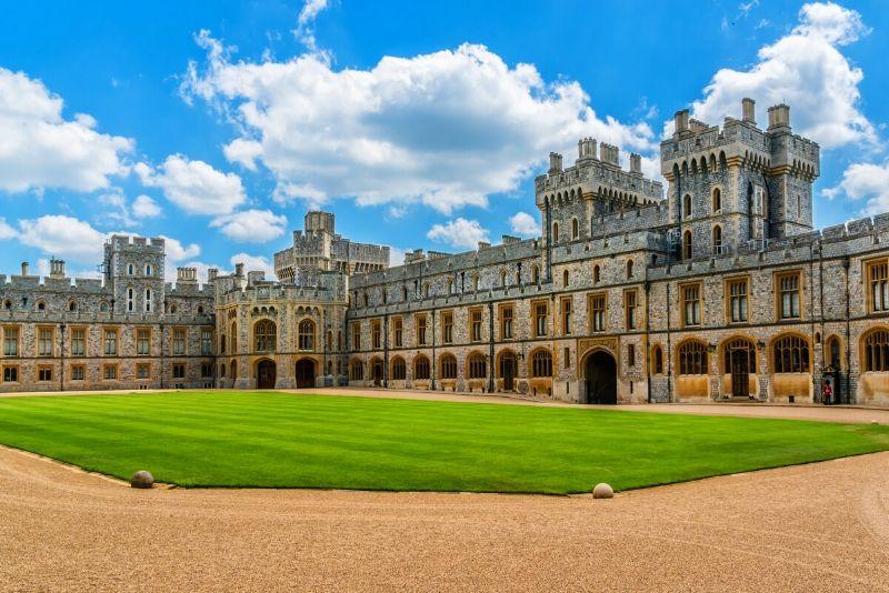 Windsor Castle, England - best castles in Europe