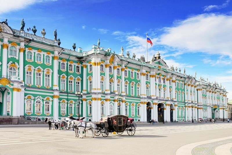 Winter Palace , Russia - best castles in Europe