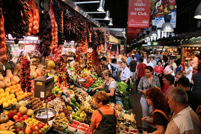 Barcelona and its Markets Free Tour