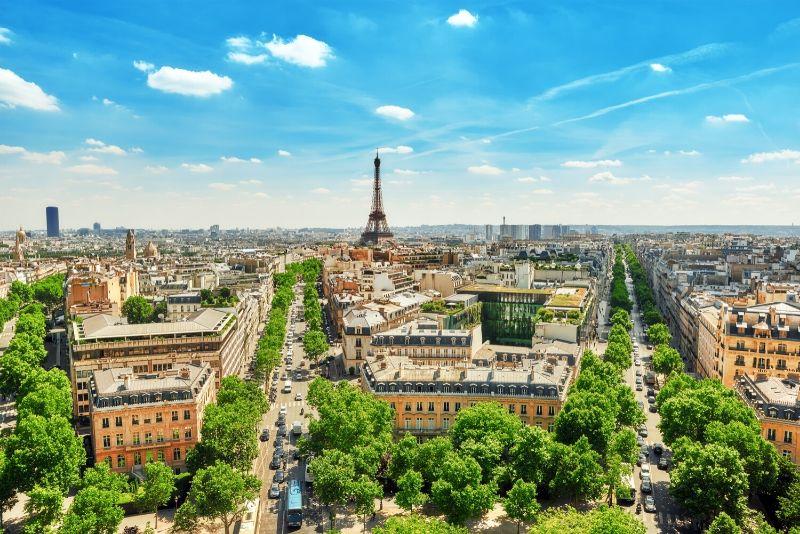 Schönheit von Paris - Kostenlose Wanderung