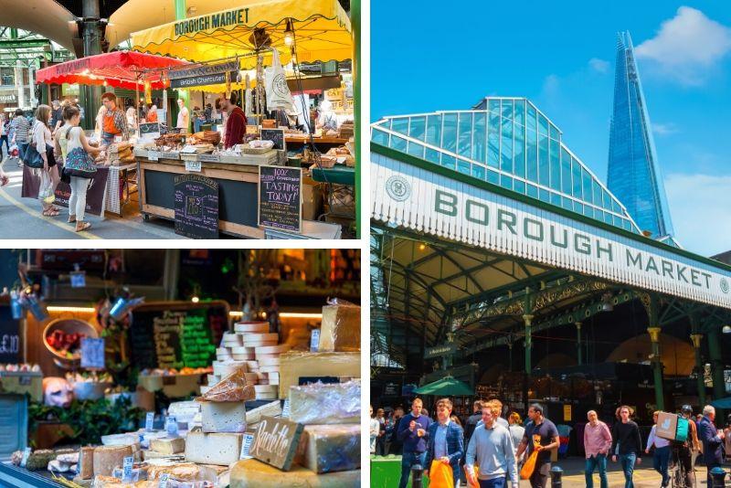 Borough Market a Londra