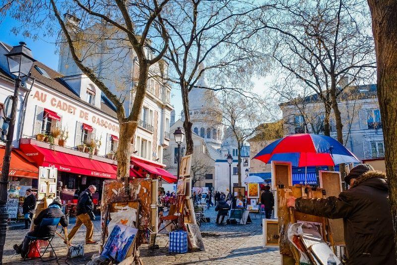 Charm Montmartre, ein Dorf im Herzen von Paris - kostenlose Tour