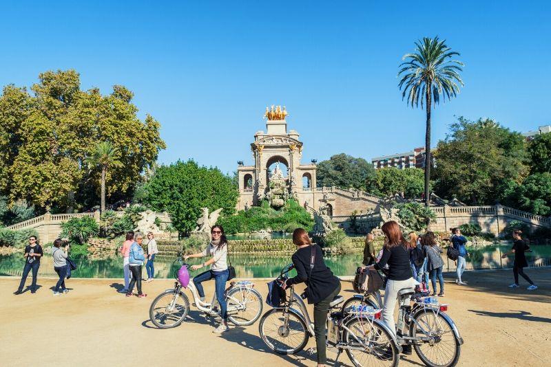 Tour gratis en bicicleta por Barcelona