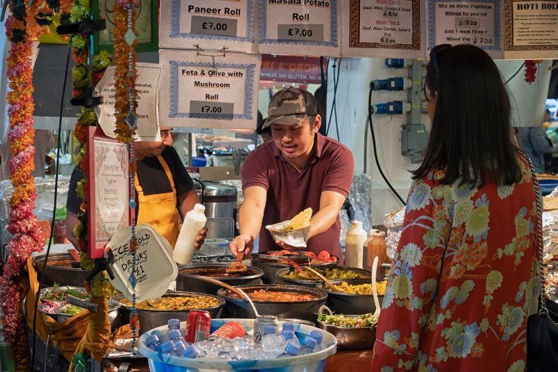 Food Tour gratuito di Londra