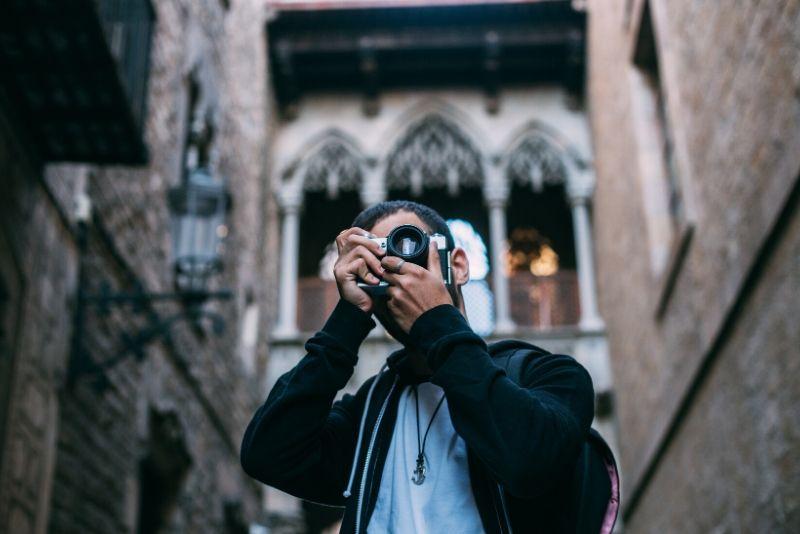 Recorrido fotográfico gratuito en la Barcelona gótica