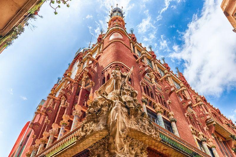 Recorrido a pie gratuito por el Palacio de la Música Catalana