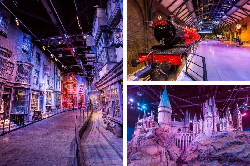 Harry Potter Warner Bros studio tour Londres