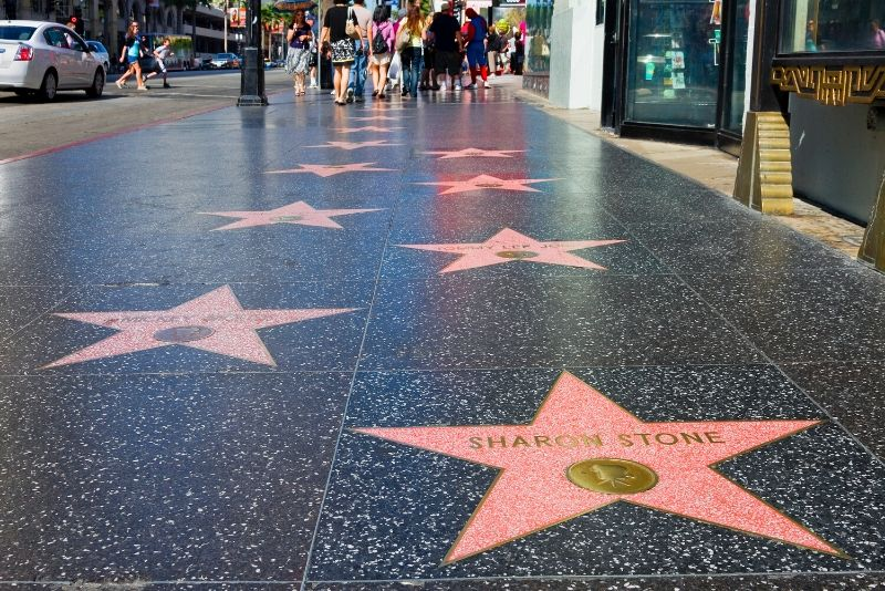 Hollywood walk of Frame, Los Angeles