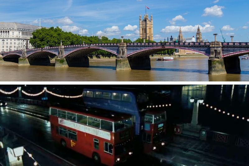 Lambeth Bridge in London