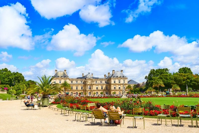 Latin Quarter und Luxembourg Gardens