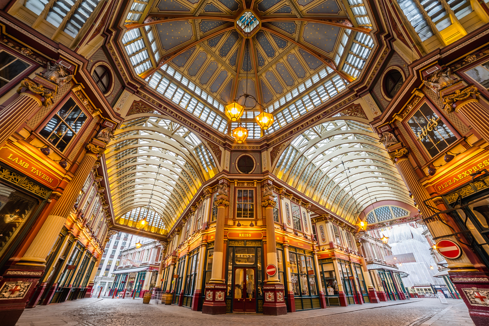 Leadenhall Market Harry Potter Rundgang