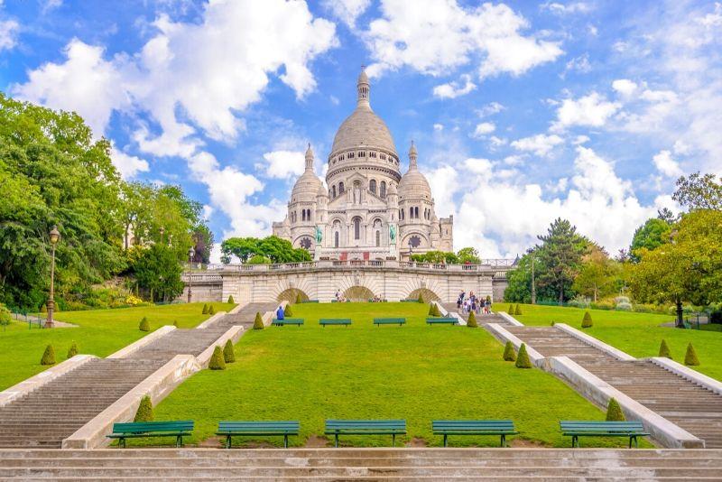 Montmartre Kostenlose Wanderung von Moulin Rouge nach Sacré Coeur