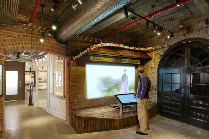 Niagara Falls Underground Railroad Center