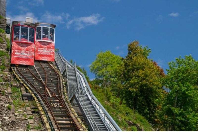 Niagara Hornblower Funicular