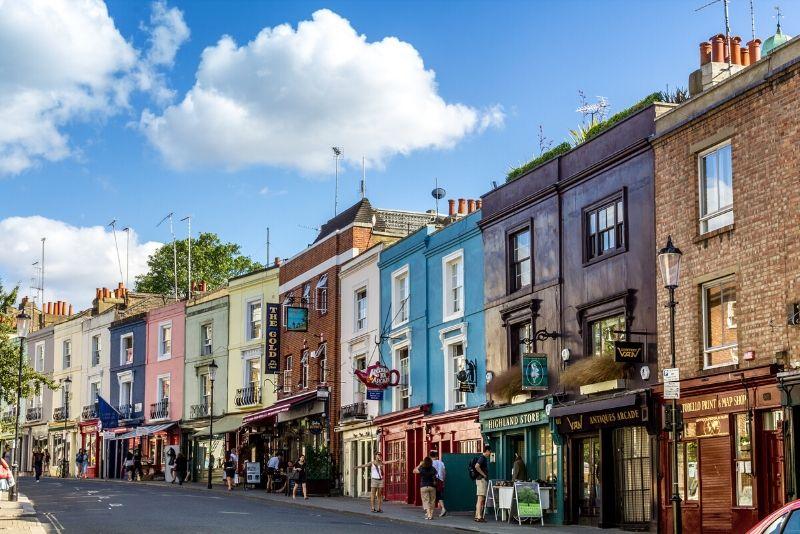 Tour a piedi gratuito di Notting Hill