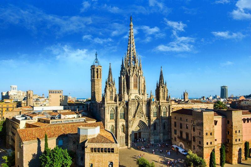 Recorrido a pie gratuito por el casco antiguo de Barcelona