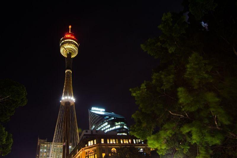 Sydney Tower Eye tips