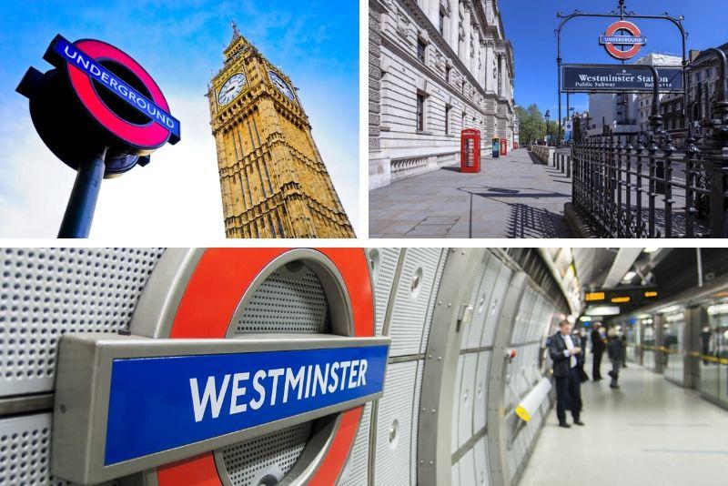 Stazione della metropolitana di Westminster