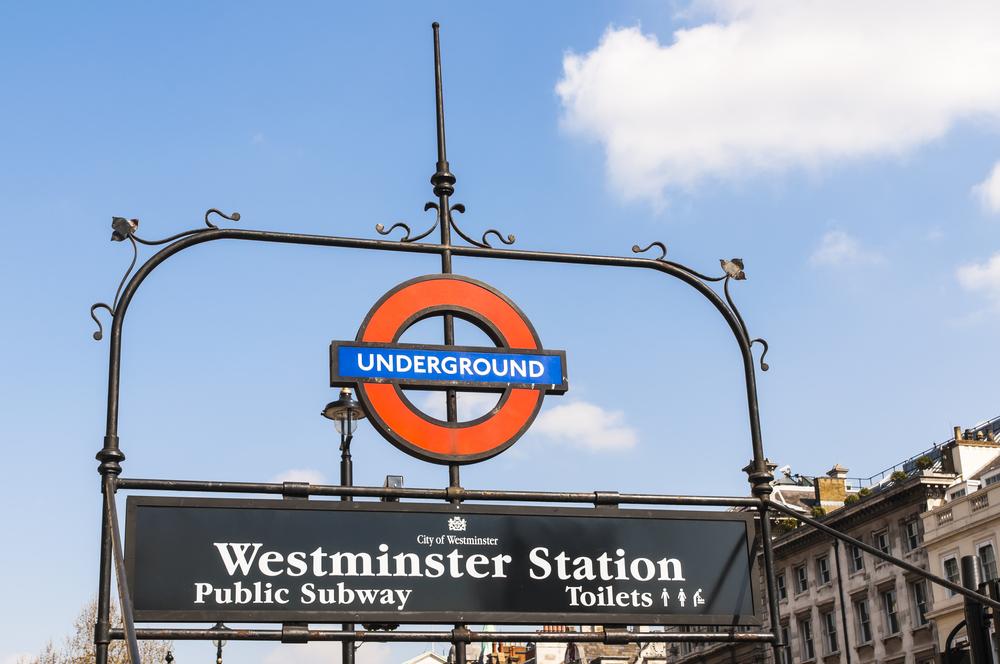 Westmister Tube Station - Harry Potter Tour