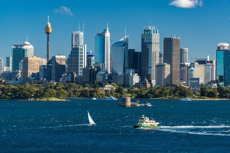 best time for Sydney Tower Eye