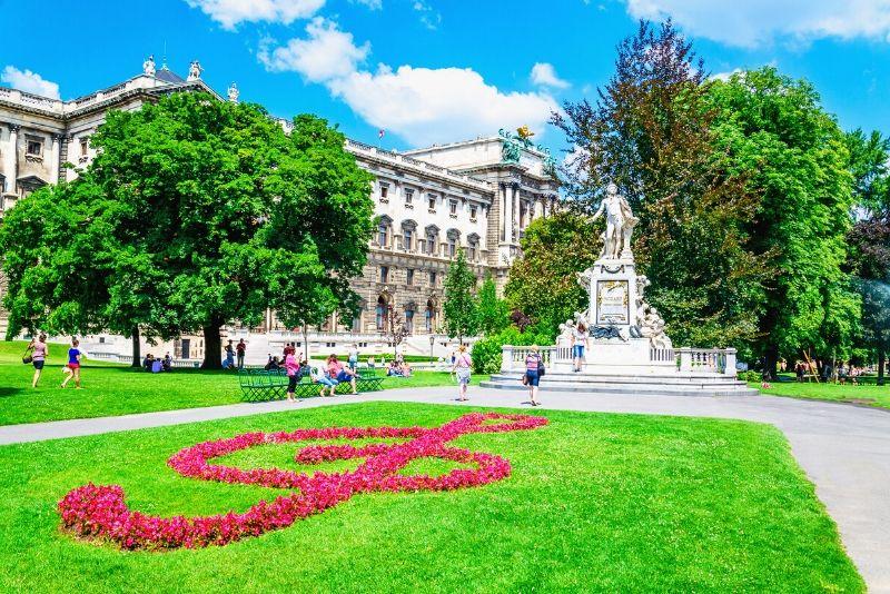 beste Zeit für einen kostenlosen Rundgang in Wien