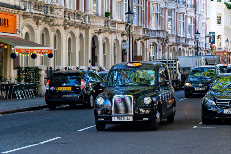 harry potter black taxi cab