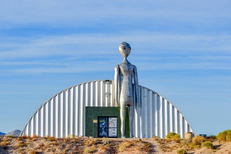 Area 51 near Las Vegas