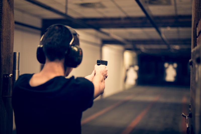 Experiencia de tiro en el campo de batalla