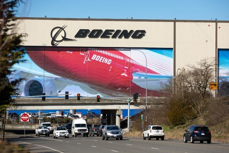 Boeing Factory location
