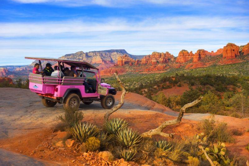 Broken Arrow Jeep Tour in Sedona