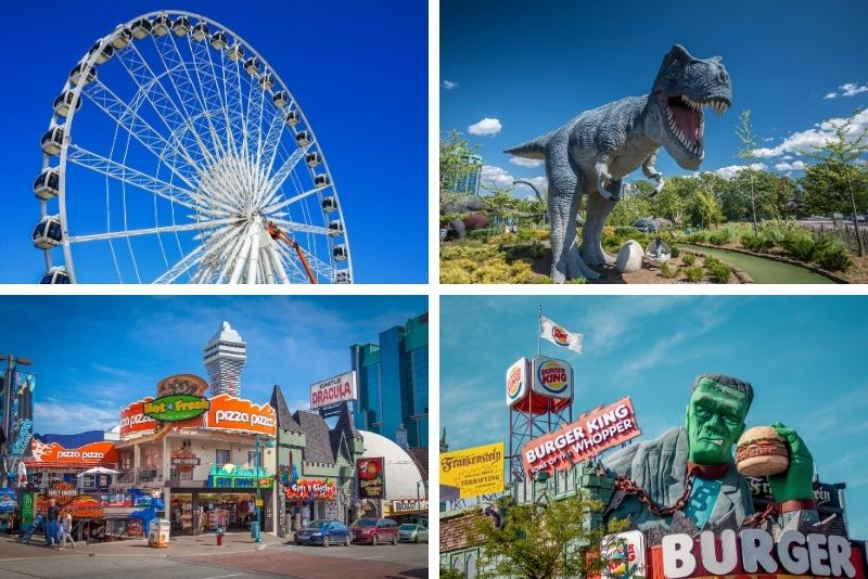 Clifton Hill attractions