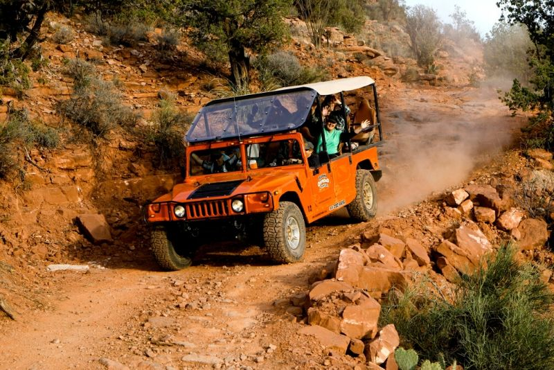 Eater Trail: Extreme 4x4 Experience in Sedona