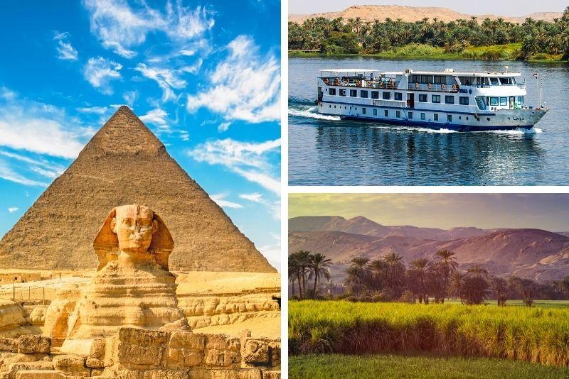 Ägypten Tour inklusive Kreuzfahrt
