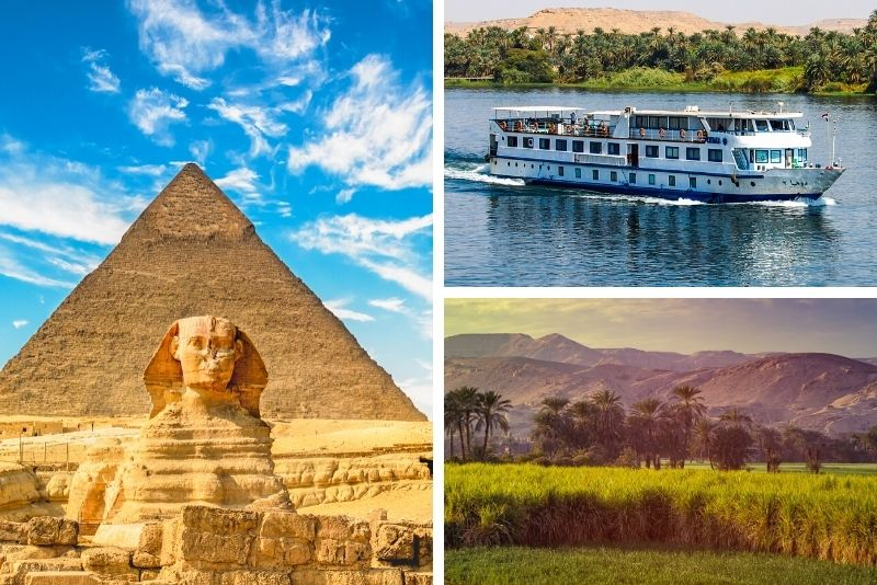Egypt tour including a cruise