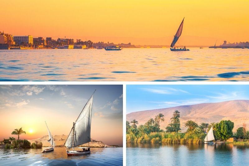 Felucca sailing boat tours