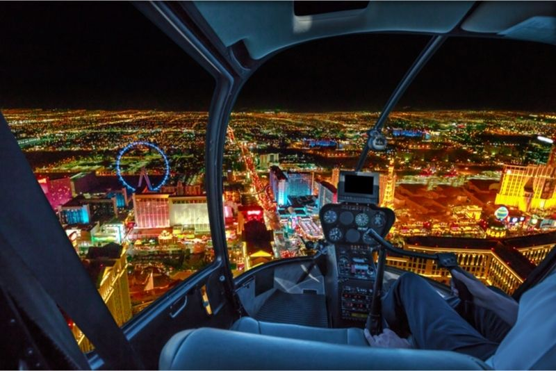 Helicopter tour in Las Vegas