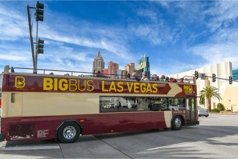 Tour en autobús turístico