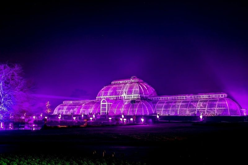 Kew Gardens by night