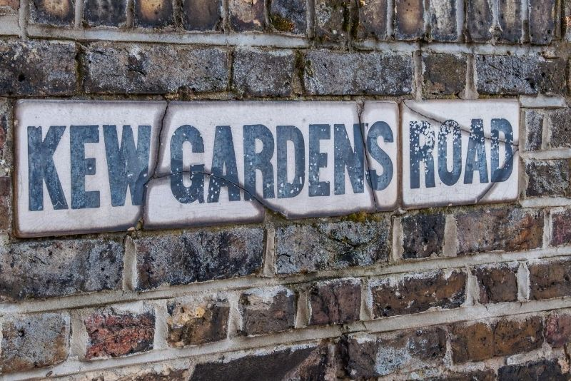 Kew Gardens - how to get there