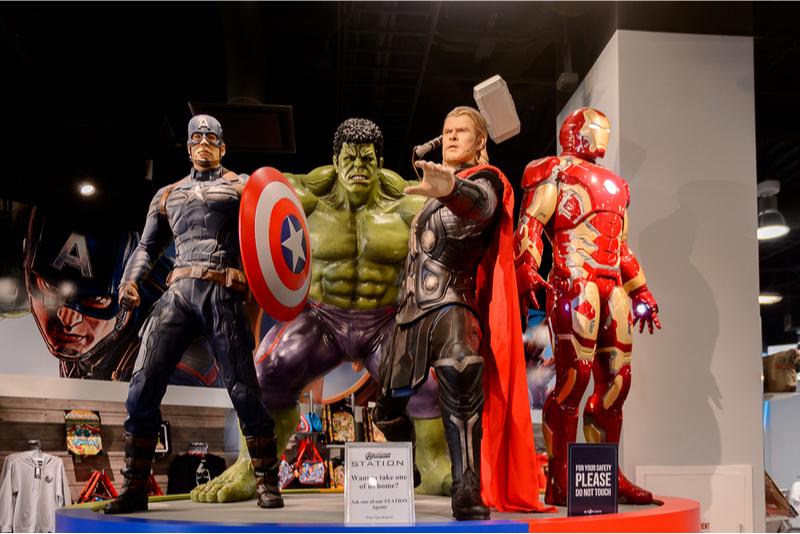 Marvel Avengers Station in Las Vegas