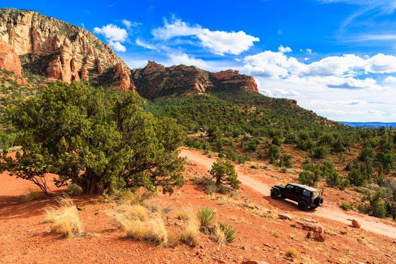 Mogollon Rim Private Jeep Tour from Sedona