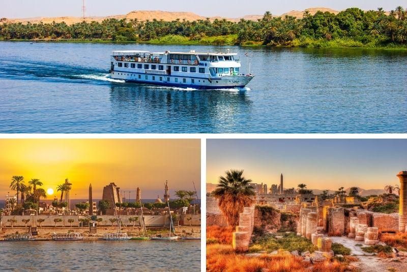 Multi-day Nile cruises Aswan – Luxor