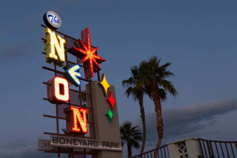 Museo de neón en Las Vegas