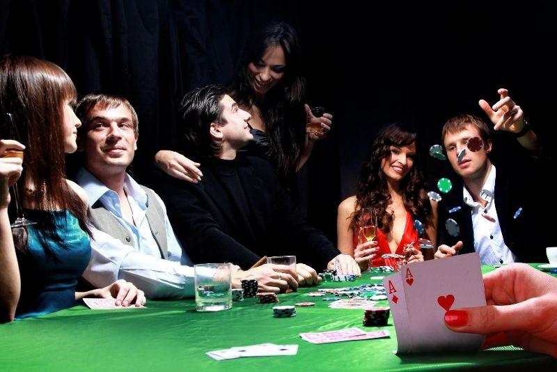 Poker game at Bellagio Casino