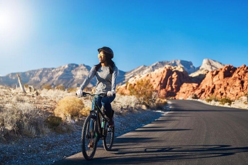 Red Rock Canyon en bicicleta
