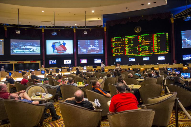 Sport betting at Caesar Palace