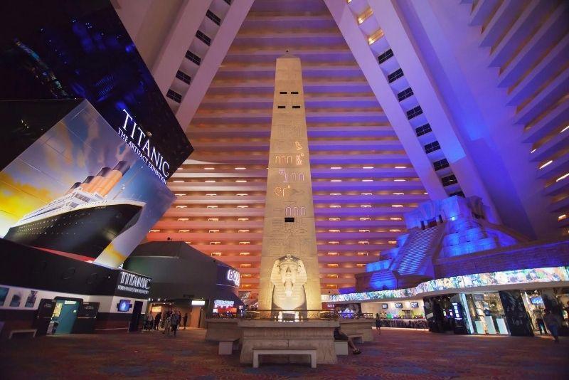 Exposición del Titanic en Las Vegas
