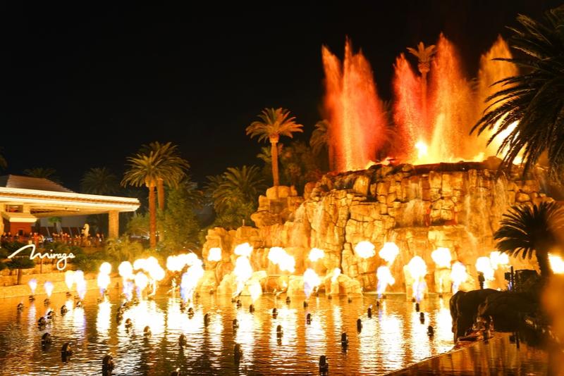 Erupciones de volcán en Las Vegas