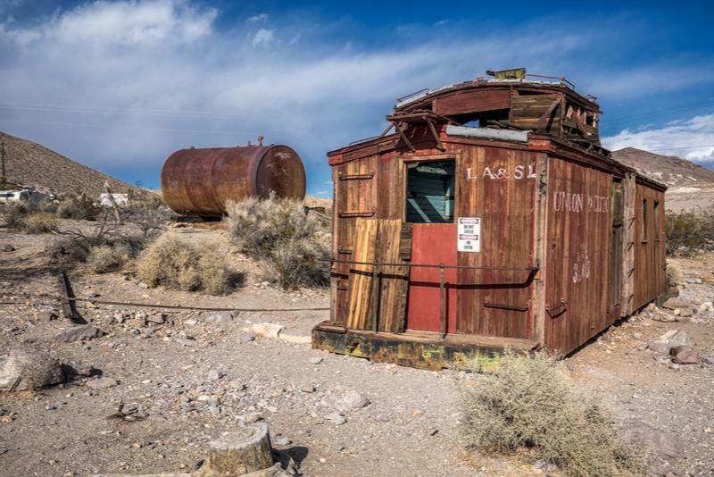 Pueblo fantasma del salvaje oeste